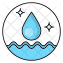 Water Cleaning Hygiene Icon