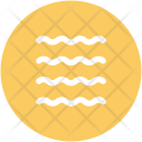 Water Waves Lake Icon