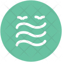 Water Waves Birds Icon