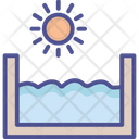 Water Falling River Icon