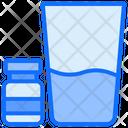 Water Medicine Glass Icon