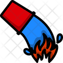 Water Bucket Container Icon