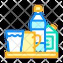Water Milk Tea Icon