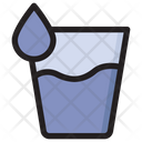 Water Water Glass Energy Drink Icon