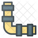 Water Pipe Pipeline Icon
