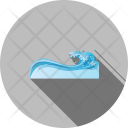 Water Wave Sea Icon