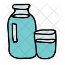 Water Bottle Glass Icon