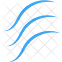 Ocean Wave Sea Icon