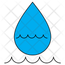 Water Drop Wave Icon