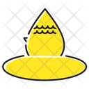 Water Leaf Life Icon