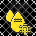 Water Drop Gear Icon