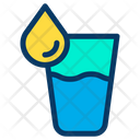 Drink Liquid Glass Of Water Icon