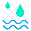 Water Rain Sea Icon