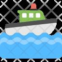 Water Ambulance Icon