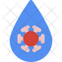 Water Bacteria Icon