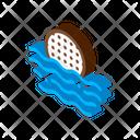 Water Ball White Icon