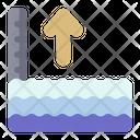 Water Barrier Dam Water Reservoir Icon