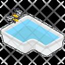 Water Bathtub Icon