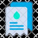 Water Bills Icon