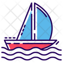 Water Boat Icon