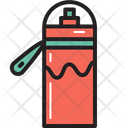 Camping Water Bottle Icon
