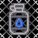 Oil Bottle Makeup Icon