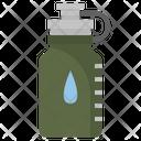 Water Bottle Drinking Icon