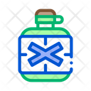 Water Bottle Jungle Icon