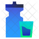 Water Drink Bottle Icon