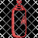 Bottle Health Lifestyle Icon