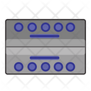 Water Bottle Box Icon