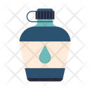 Water Bottle Canteen Icon