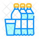Water Bottles Cup Icon