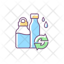 Water Bottles Refill Icon