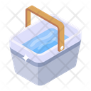 Water Bucket Water Basket Water Tub Icon