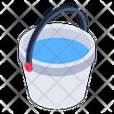 Water Basket Water Bucket Water Pail Icon