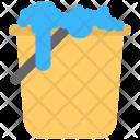 Bucket Floor Cleaner Icon