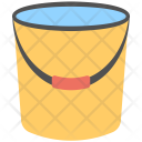 Water Bucket Wiping Icon