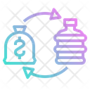 Water Trading Sell Icon