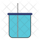 Water Can With Straw Icon