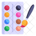 Water Colours Icon