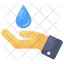 Water Conservation Conserve Drop Icon