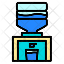 Cooler Drink Furniture Icon