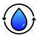 Water Recycle Reuse Icon