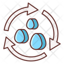 Water Cycle Cycle Environment Icon