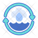 Water Cycle Cycle Rain Cycle Icon