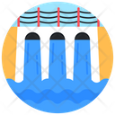 Dam Hydroelectric Water Dam Icon