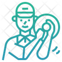 Water Delivery Boy Icon