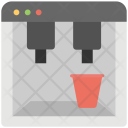 Water Dispenser Cooler Icon