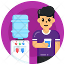Drinking Water Water Glass Drink Icon